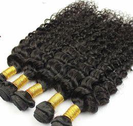 Armadura usada en Línea-Halle Berry La misma trama brasileña del pelo de la Virgen del estilo 5A 8-22inch que el tejer profundo del pelo del uso del salón de la onda del color natural