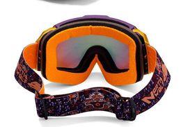 Descuento gafas de sol púrpura el envío al por mayor-Marca de fábrica libre púrpura de la lente doble multicolor snowboard casco de esquí de nieve de gama alta anteojos antiniebla gafas de sol UV 100% UV