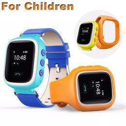 Wholesale 2016 Kid GPS Locator Smartwatch SOS Call Location Finder Tracker Device Children Anti Lost Monitor Interactive Communication Baby Wristwatch
