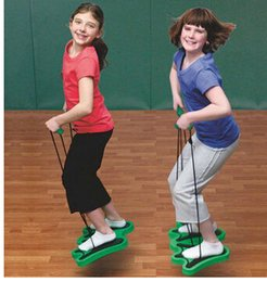 Wholesale S SWorldWide teaching aids bounce shoes frog jump kindergarten Sports Fun Games sensory integration training equipment