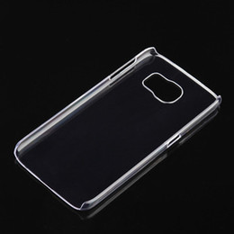 For Iphone XR XS 7 8 Transparent Crystal Clear PC Hard Plastic Shell Case Ultra thin Slim Cover Cases For Samsung Galaxy S7 S8 plus