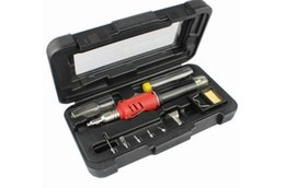 Free Shipping Self-Ignition 10-in-1 Gas Soldering Iron Cordless Welding Torch Kit Tool HS-1115K NEW