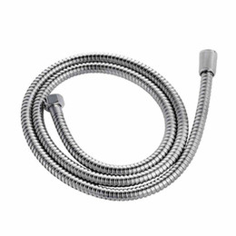 Wholesale 1 meters of stainless steel hose shower shower connecting hoses Kitchen Bath Fixtures Bathroom Parts Plumbing Hoses