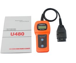 Wholesale 2015 Original U480 OBD2 OBDII Car Truck AUTO Diagnostic Engine Scanner Fault Code Reader