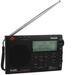 Wholesale TECSUN PL660 PLL SSB VHF AIR Band Radio FM Stereo MW SW LW Dual Conversion Receiver Y4133A