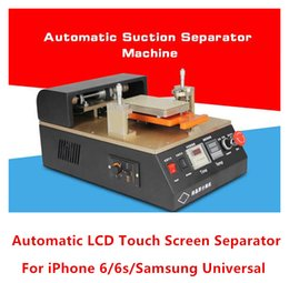 Wholesale 110V V Aluminium alloy Automatic Auto LCD Glass Screen Separator Repair Machine built in Vacuum pump for iphone s s6 dhl free