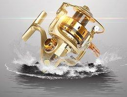 Wholesale Useful Fishing Spinning Reel Fishing Spinning Reel Shimano BB MR3000 Metal Rocker Reel Fishing Tackle In PA66 Strong Nylon