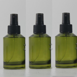 125ml olive green Glass lotion bottle with black plastic pump,cosmetic packing,cosmetic bottle,packing for liquid