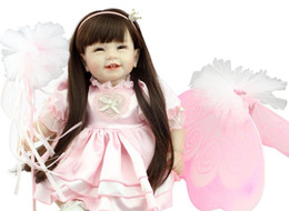 silicone reborn babies dolls born girl doll baby alive adora doll lifelike toys poupee for children newborns kids toy