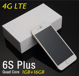 Goophone i6 i6s 6s Plus CellPhone 64Bit Quad Core 1GB RAM 8GB ROM 1280*720 HD 8MP Show Fake 4G LTE Real Fingerprint Unlocked Smart Phone