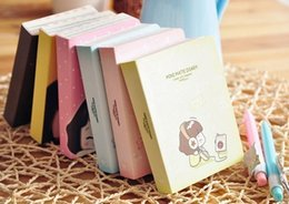 Wholesale New Creative Cute Lovely Girl Mini Diary Book Paper Notebook Notepad Colorful Inner Pages Fashion Gifts dandys