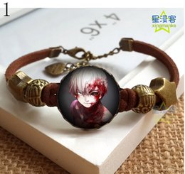 Wholesale Tokyo ghoul in Tokyo Basic research lee Charm Bracelets Movie Characters Bracelets
