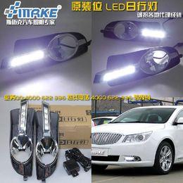 Wholesale case for Buick case for LaCrosse special LED daytime running lights daytime running lights DRL fog lamp assembly line
