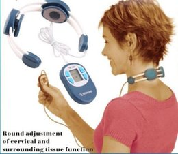 Wholesale Vibrating Treatment Neck Massager Cervical Vertebra Therapy Instrument Massager