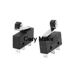 Wholesale AC V A Ith A Short Hinge Roller Lever AC DC Basic Micro Switch order lt no track