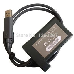 Descuento xbox duro Transferencia mayor-datos del disco duro HD para Microsoft XBOX 360 Cable USB Kit estrenar VZ7rLj