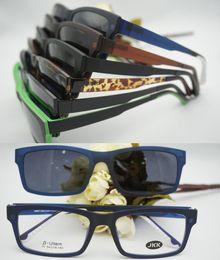 Wholesale-Ultem clip on sunglasses frame 77 polarized lens magnet glasses eyewear free shipping