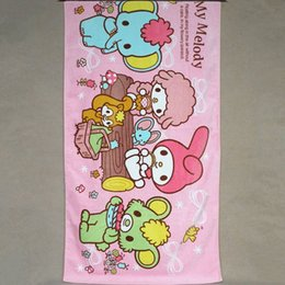 Wholesale Foreign brand towels exported to Europe and the United States Le Di Doraemon cartoon printing towel Cotton Blanket for children
