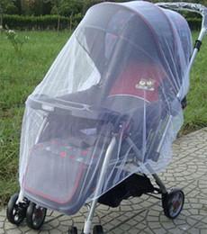 Promotion poussette bébé insecte Livraison gratuite Délicat Cute Baby poussette poussette Mosquito insectes Net Safe nourrissons Protection Mesh poussette de bébé TY362