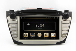 Wholesale Android Car DVD Player for Hyundai Tucson IX35 with GPS Navigation Radio Bluetooth TV AUX USB SD Audio Stereo WIFI
