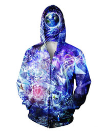 w1213 Transcension Zip-Up Hoodie 3d print Zipper Sweatshirts Women Men Jumper Sport Tops Sweats Outfits