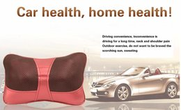 Wholesale Shiatsu Deep Kneading Massage Pillow With Heat Massage Can Relax Sooth And Relieve Neck Shoulder And Back Pain