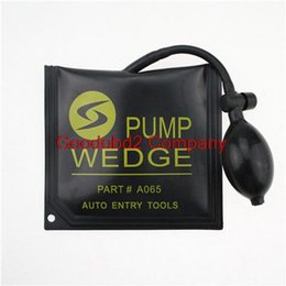 Wholesale Best Black KLOM PUMP WEDGE LOCKSMITH TOOLS Auto Air Wedge Lock Pick Open Car Door Lock Medium Size CM