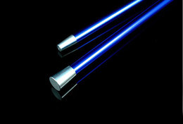 Free shipping blue Dancing stick blue Aluminium alloy cane magic tricks toys stage magic props