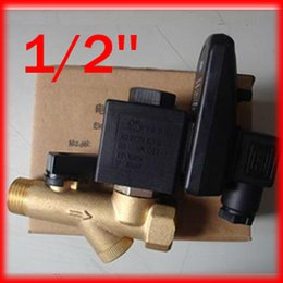 Wholesale High Quality Compressor Auto Condensate Drain Digital Timer Valve Solenoid AC220V Bar Pressure