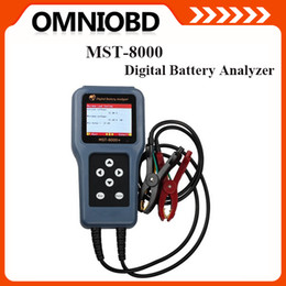Wholesale MST Digital Battery Analyzer With Printer MST car digital Battery Analyzer V V with LCD tester MST