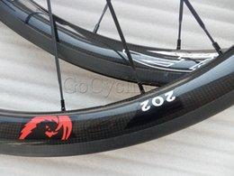 Wholesale carbon wheels powerway R36 hub mm Tubular Clincher c full fiber carbon road bike wheels bicycle Wheelset basalt brake surface