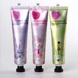 Wholesale g Women Men Rose Lily Aloe Whitening Moisturizing Hand Care Body Feet Cream Care Hand Cream