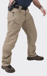 Wholesale Men Army Outdoor Tactical Pants IX9 Mens Military Combat Assault Sport SWAT Training Trousers cotton Spandex