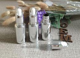 Wholesale silver basket lid ml essence small glass dropper bottle bulk oz glass dropper container for essential oils