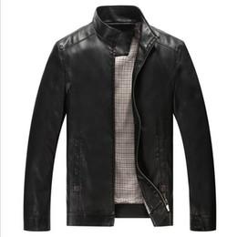 Fall- Leather Jackets Men Coats Sheepskin Motorcycle Leather Jacket Men's Luxury LeatherJacket Jaqueta de couro Veste homme 5218