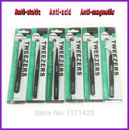 Wholesale New Forceps Sets ESD Anti magnetic Anti anti acid Non corrosive Advanced Tweezer Pliers Set