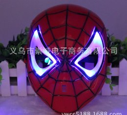 christmas toy LED MASK SPIDER man carnival festival holiday supplies party decoration luminous christmas