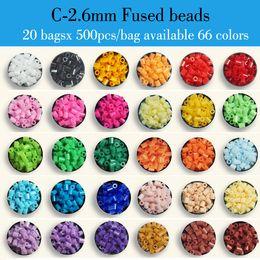 Wholesale 20 bags x bag C mm ARTKAL fused beads kids educational toys beading kits hama perler beads P1001 CB500x20