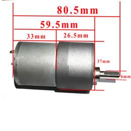 Wholesale 37GB MM V DC RPM A High Torque Gear Box Electric Motor mA