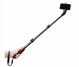 Original YUNTENG 1288 Selfie Sticks YT-1288 Sefie Monopod With Bluetooth Remote Controller For Hero 4 Hero3 iPhone6 Samsung S5 Note4