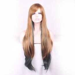 Wholesale Cheap wigs good quality wigs long hair wig synthetic wigs for women perruques synthetic femme cm natural wave new arrival