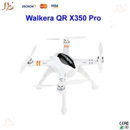 Promotion gps quadcopter fpv Walkera QR X350 Pro GPS Pilote automatique FPV Quadcopter Récepteur RX705 intégré avec DEVO 10 Transmetteur RC quadrocopter