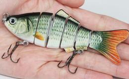 Wholesale Fishing Lure Segment Swimbait Crankbait Hard Bait Slow g cm with fishing hook fishing tackle