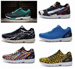 Wholesale New arrival Summer Women s and Men ZX Flux Reflective City JX Flux Reflective City Junglungle Men s Running Shoes Cheap Sport Athletic Shoe
