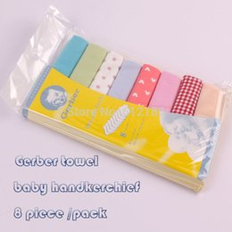 Wholesale Gerber towel baby wash cloth quot x9 quot infant towel baby feeding towel handkerchief pack