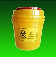 Wholesale 5pcs L tool box yellow box of medical sharps boxes of medical waste barrels with medical sharps box hospital