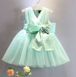 2015 summer European fashion girls tutu skirt girls princess dress kids formal dress bowknote dress girls veil dress free shipping