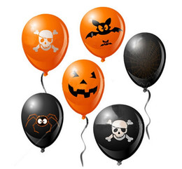 Wholesale Halloween Ghosts Demons Pumpkin Balloon Cosplay Venues Decoration Masquerade Game Party Stage Performing Props bag
