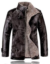 Leather Jacket Men Winter Jackets Coat Thickening Wool Waterproof Warm Leather Men Jacket Lamb Fur Coat Plus Size 4XL Sanzetti