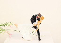 Wholesale 2015 Wedding Cake Topper Cute Bride Groom Cake Topper New Arrival Wedding Supplies Cheap In Stock